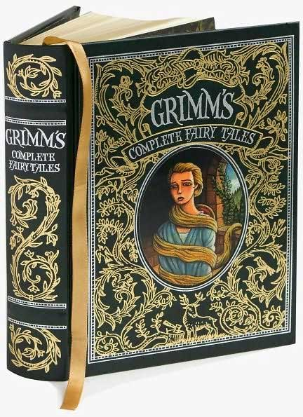 Grimms Complete Fairy Tale: Slightly Open Book