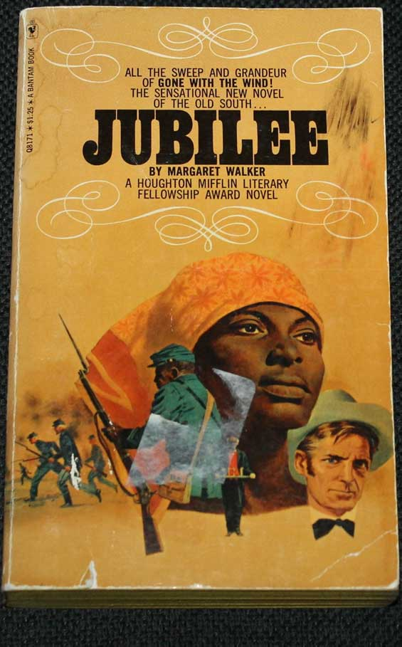 Jubilee Book Cover: Author Margaret Walker