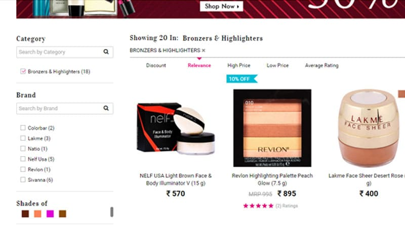 Bronzers and Highlighters: Buy Now