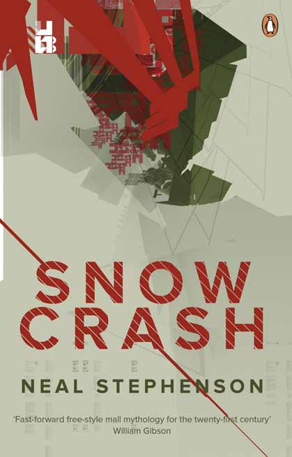 Snow Crash Book Cover
