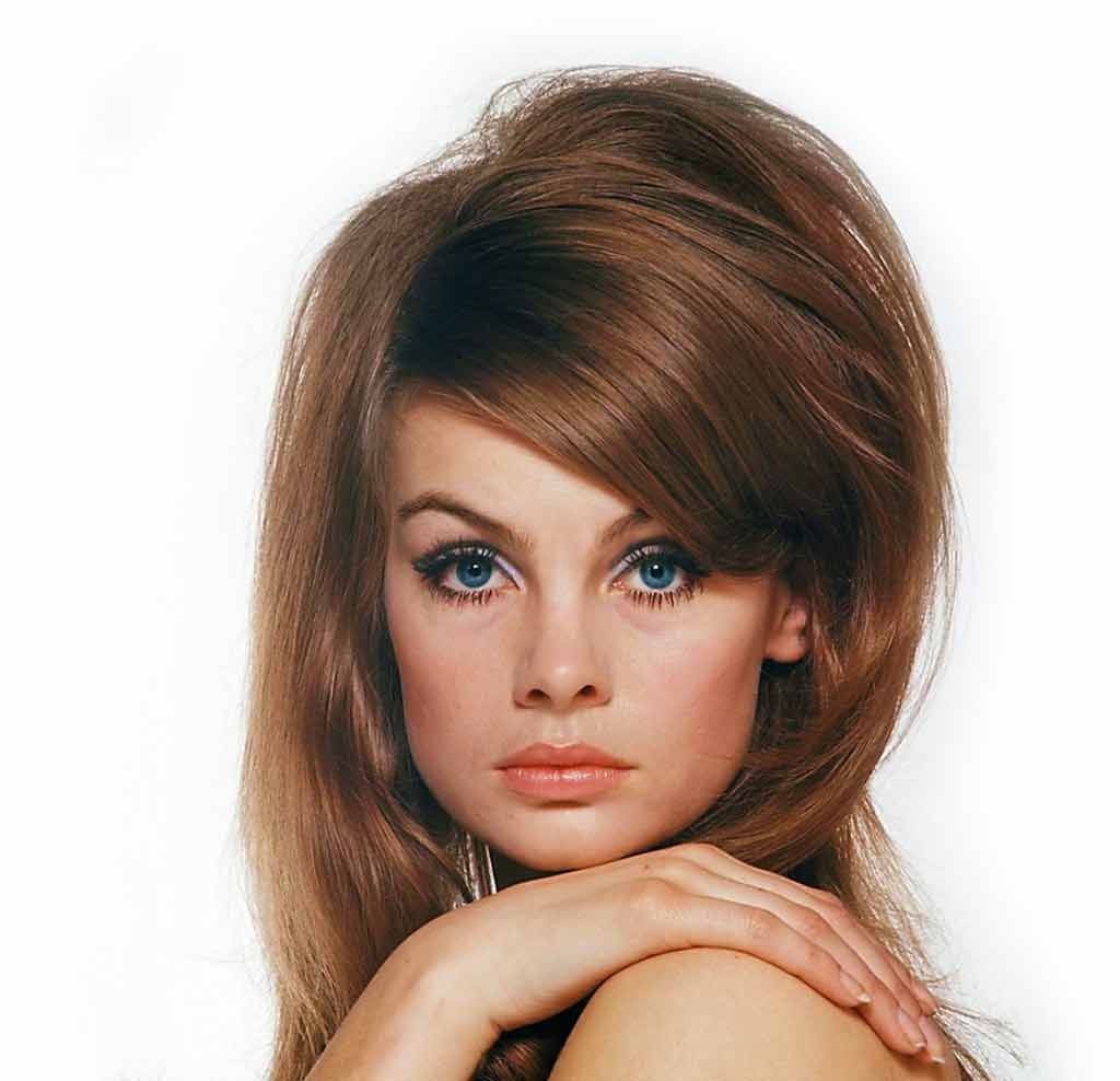 60s womens hairstyle