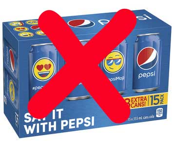 say no to 6 pack buys