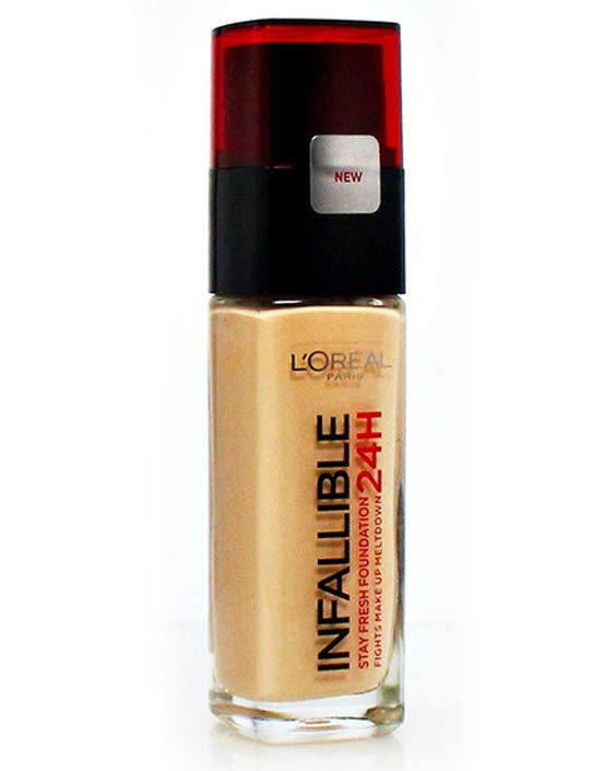 Loreal Paris 24H Infallible Make up Liquid Foundation