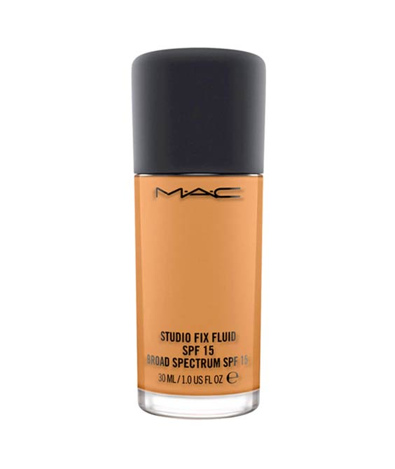 Full Coverage Foundation: MAC Studio Fix Fluid SPF 15 Foundation