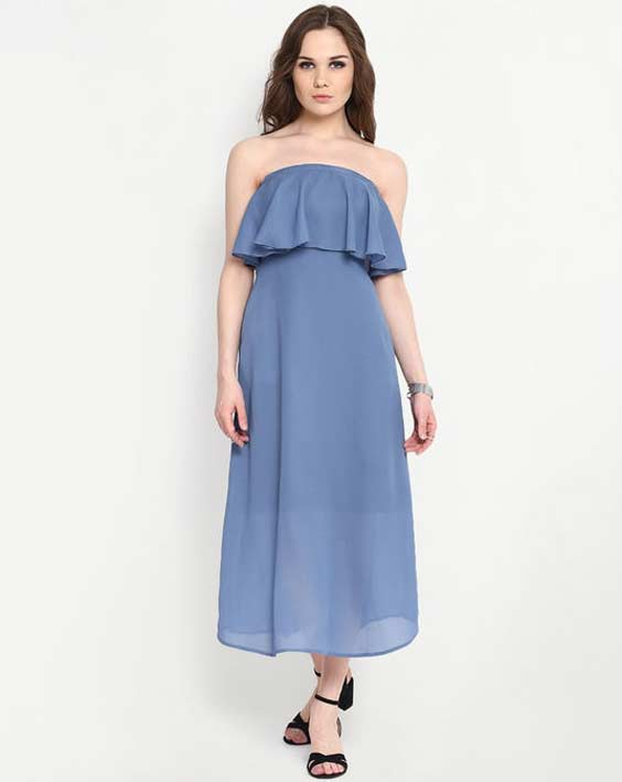 Cerulean Maxi Dress