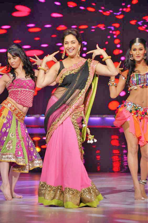 Mermaid Style Saree: Madhuri Dixt