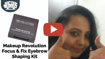 Makeup Revolution Eyebrow Shaping Kit Review & Tutorial