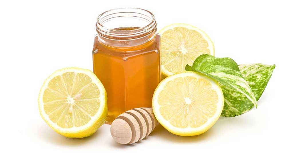 Honey and lemon juice for scars