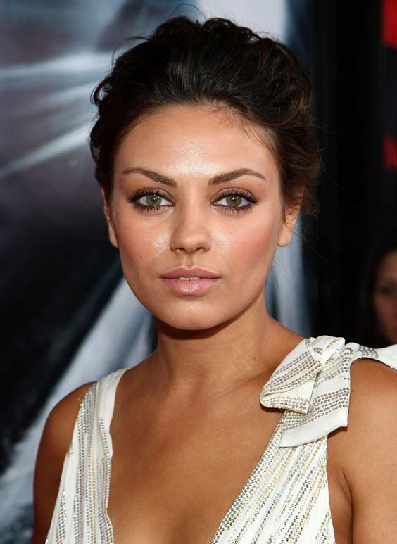 mila kunis cheek bone emphasis