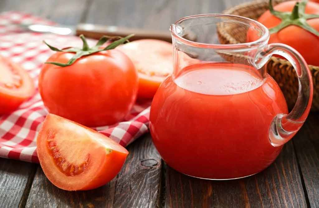 Tomato juice and lemon for dark circles: Homemade Beauty Tips for Skin