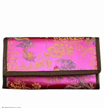 Handmade Ladies Money Purse With Dragon Pattern