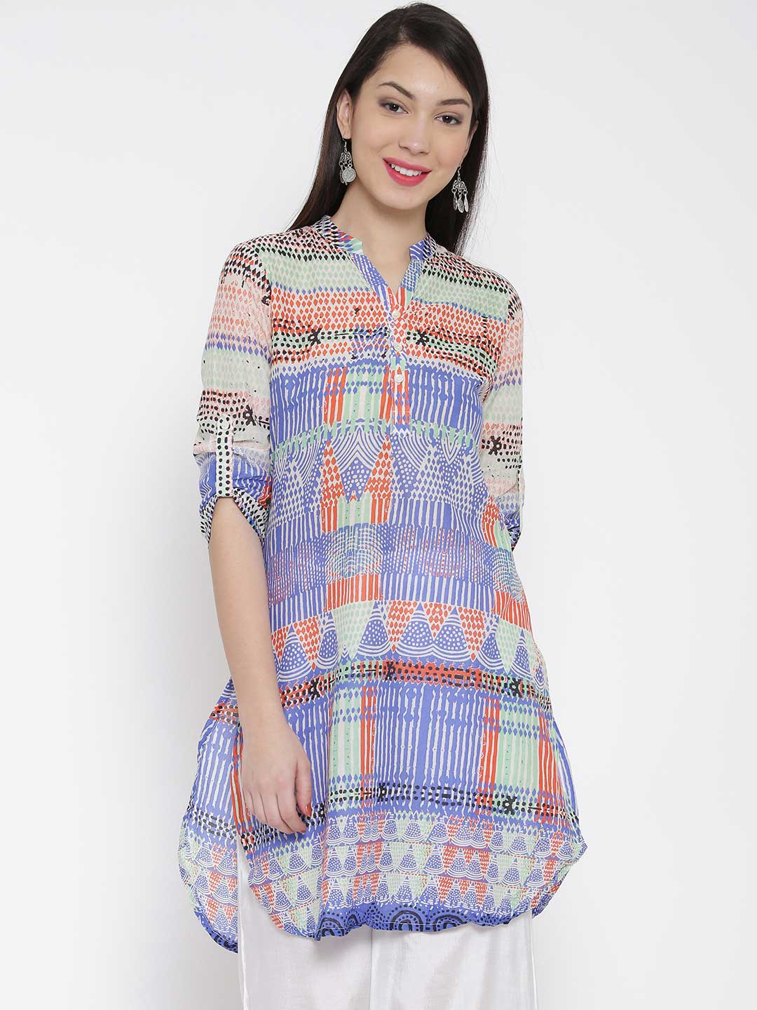Printed Straight Kurta by Anita Dongre