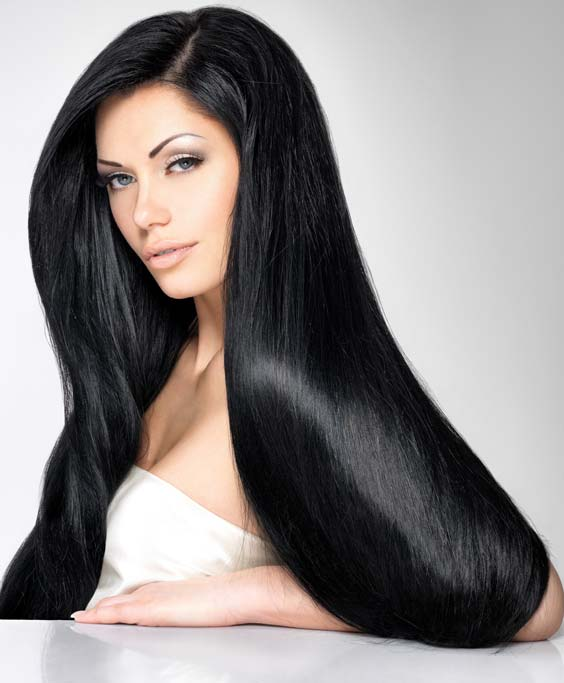 thick hairs of women