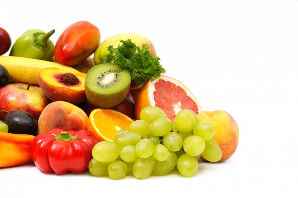 vitamin A vegetables and fruits