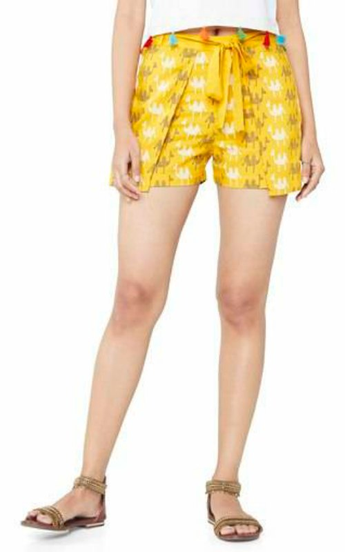 Womens Printed Shorts