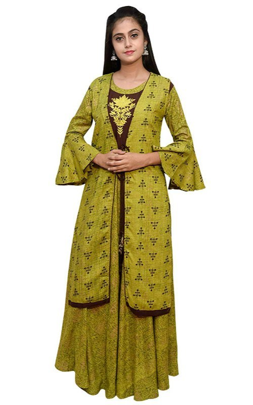 Greenish Long Kurti