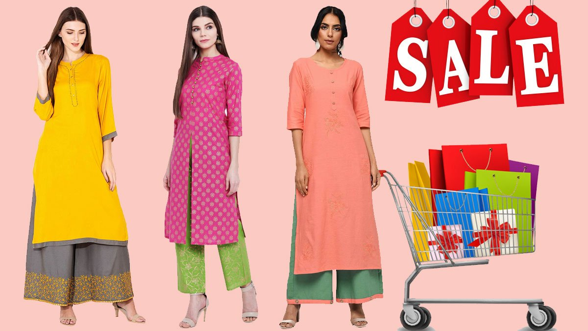 Kurti Palazzo Sets on Sale