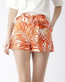 A pair of regular fit shorts for girls