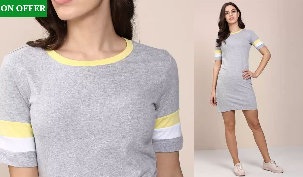 Women Bodycon Grey Dress