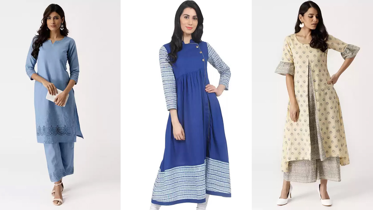Womens's Kurtas at Flat 70% Discount