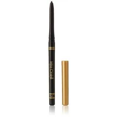 9. Miss Claire Miss Claire Waterproof Extra Soft Kohl Pencil (Gold Cap), Black