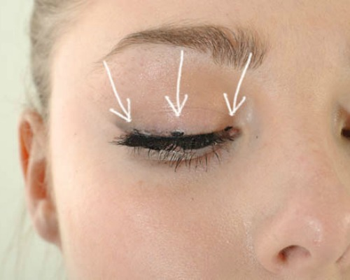 eyeliner by joining the dots