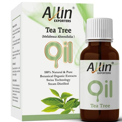 Tea Tree Essential Oil for Face, Skin, Hair, Acne and Dandruff
