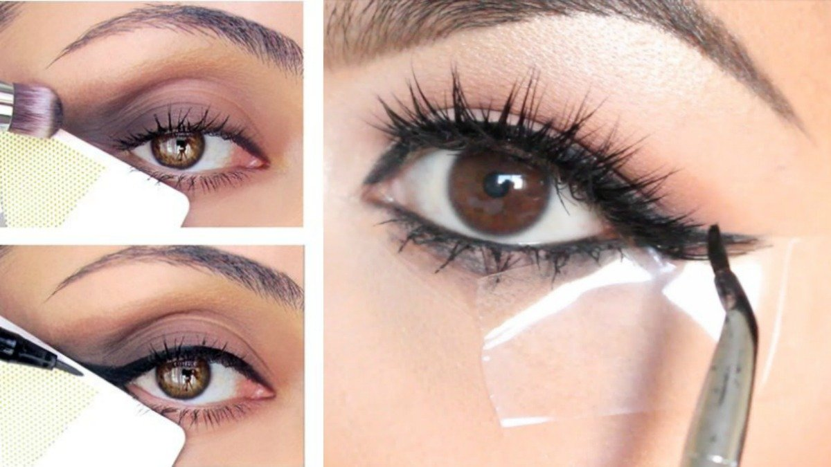 perfect winged eyeliner hacks
