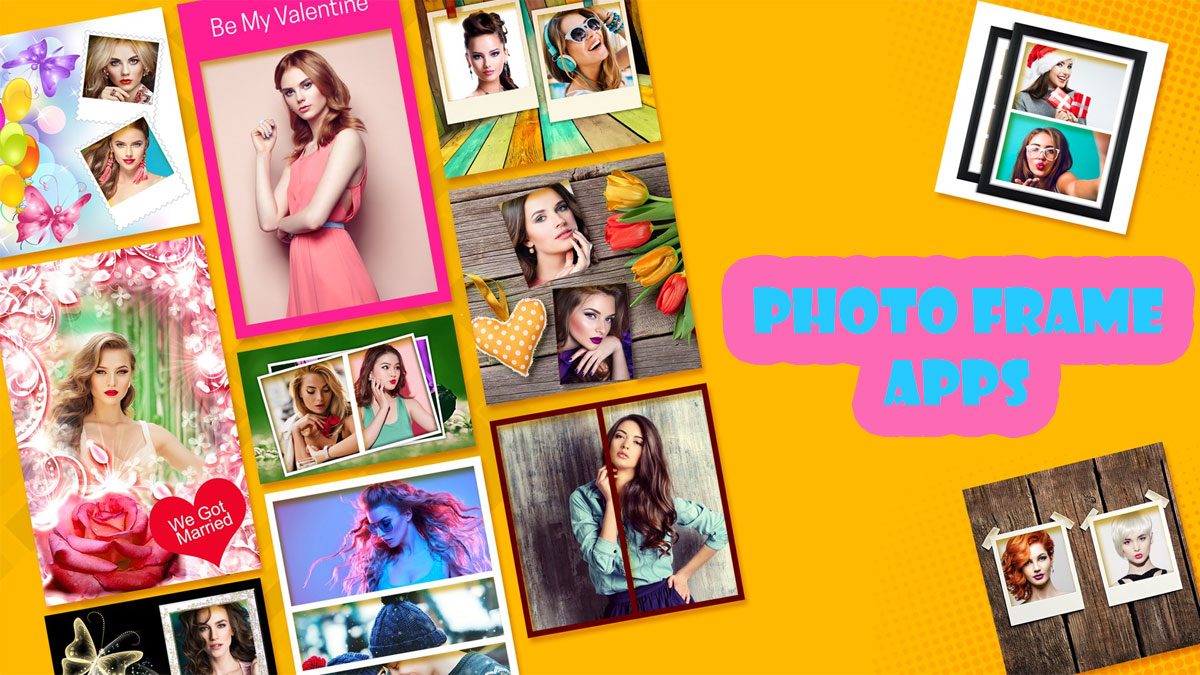 best photo frame free apps