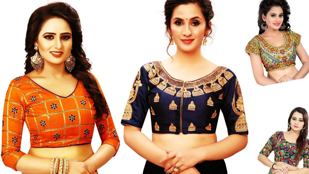 Colourful Blouses on Sale
