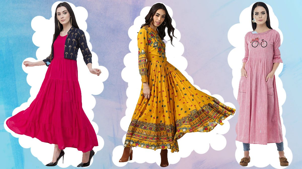 Beautiful Anarkali Kurtis