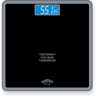 Digital Electronic Black Weighing Scale