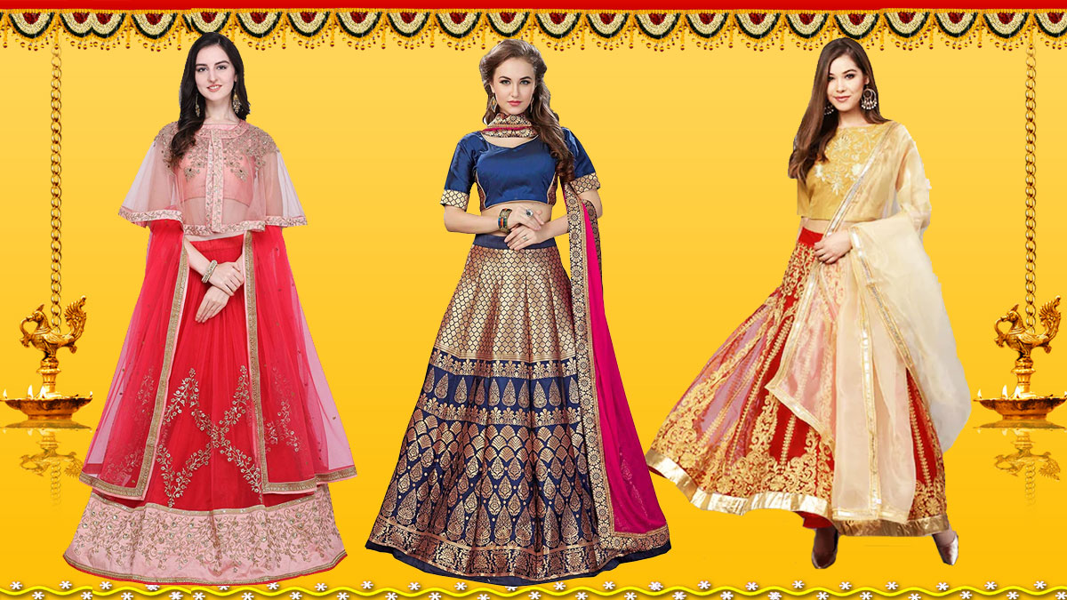 Lehenga Cholis from Diwali Online Sale