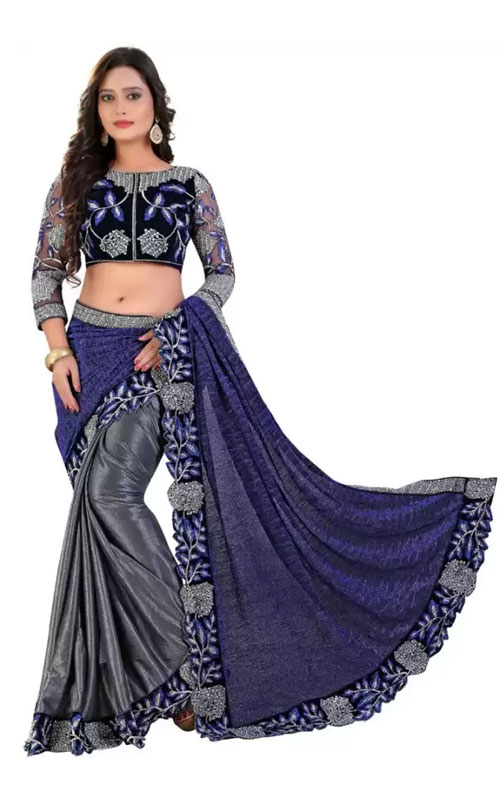 Bollywood Saree with Designer Blouse