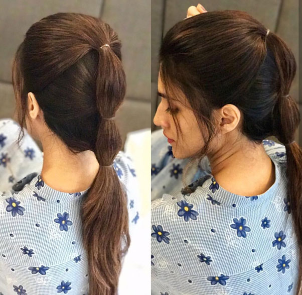 Bumped Up Ponytail