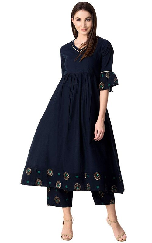 Cotton Kurti-Palazzo Set at 1/3rd Price