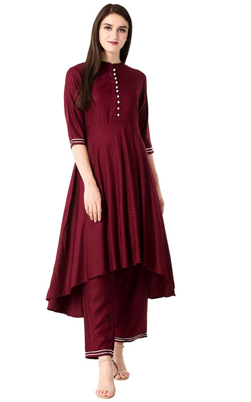 Kurti Palazzo Set on Sale