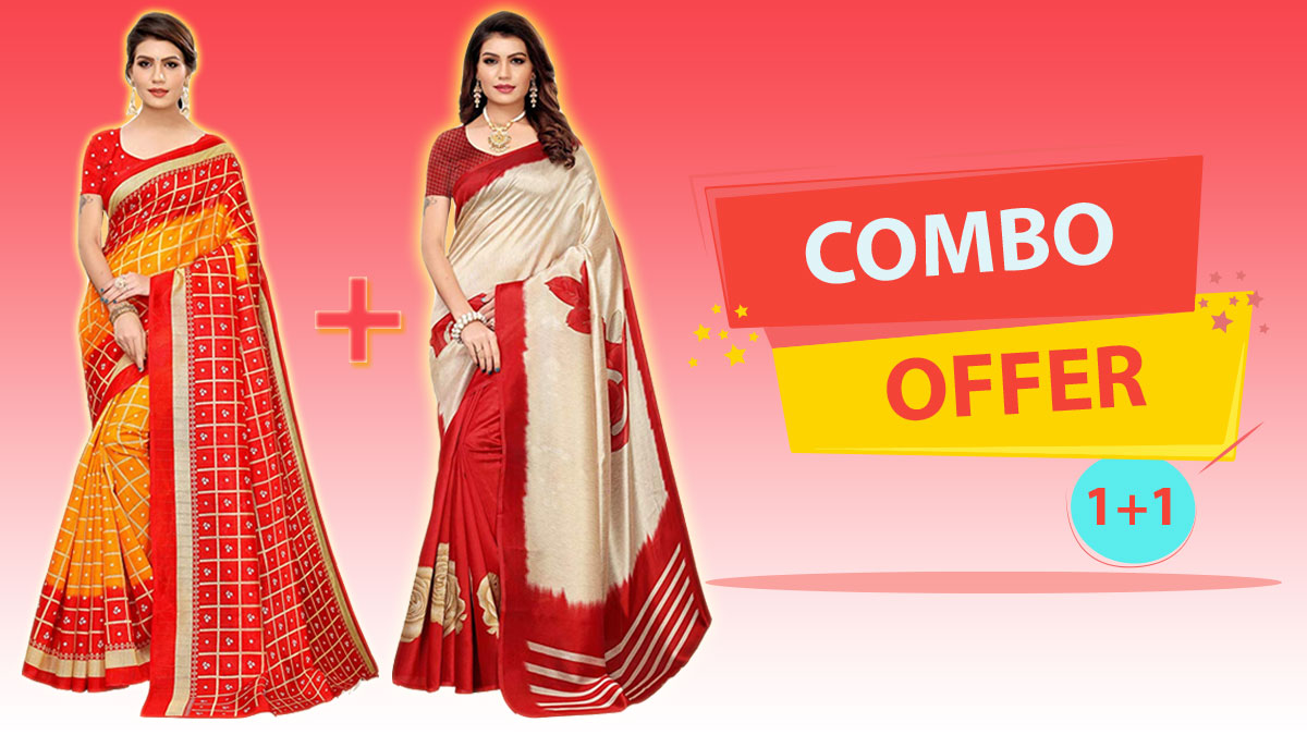Amazon Saree Combo Offer