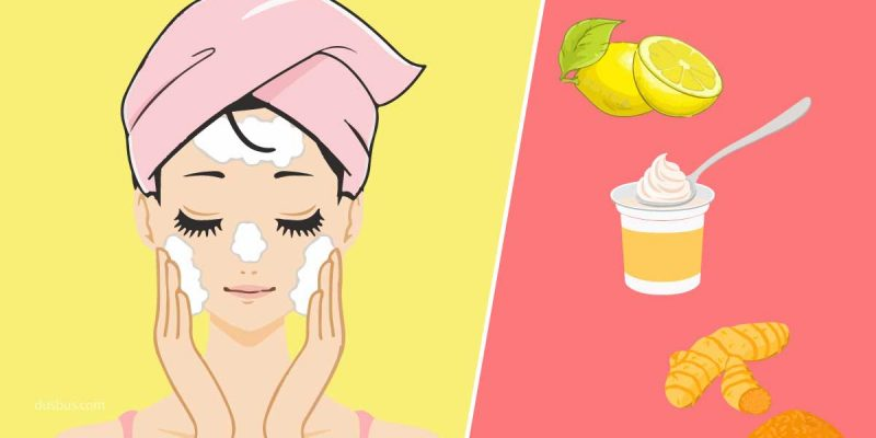 Natural skincare routine for indian women
