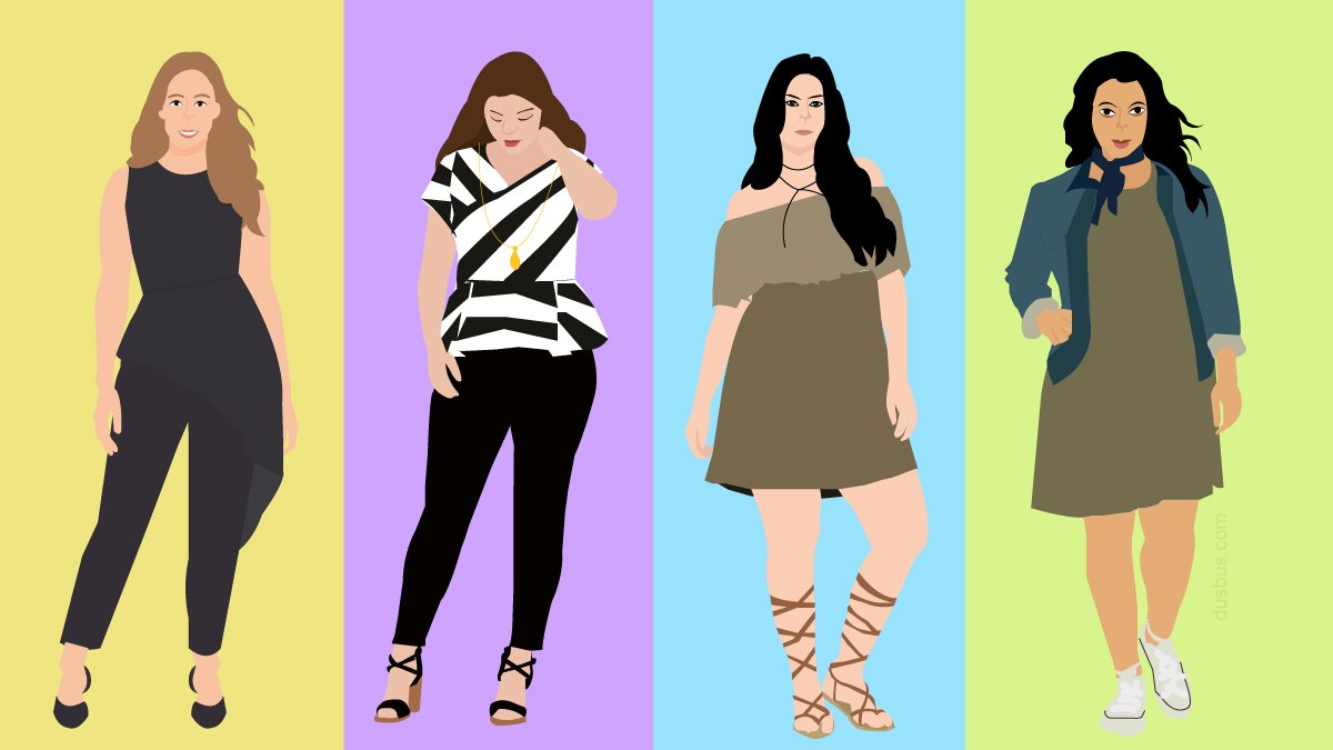 plus size women styling tips