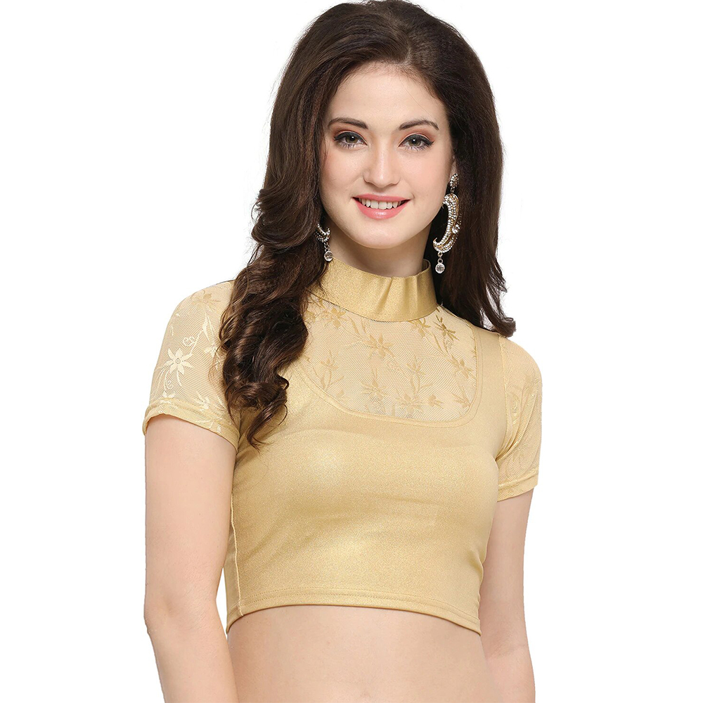 Dusbus Recommended: Gold Net Solid BLouse