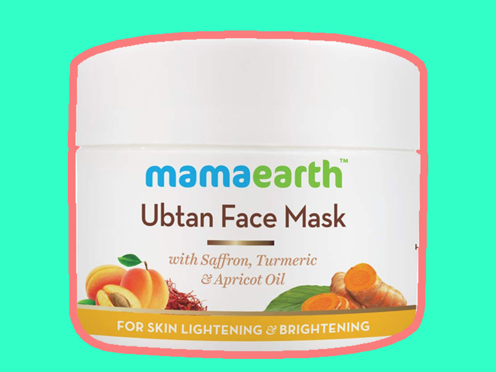 Mamaearth Ubtan Face Pack Mask for Fairness, Tanning & Glowing Skin