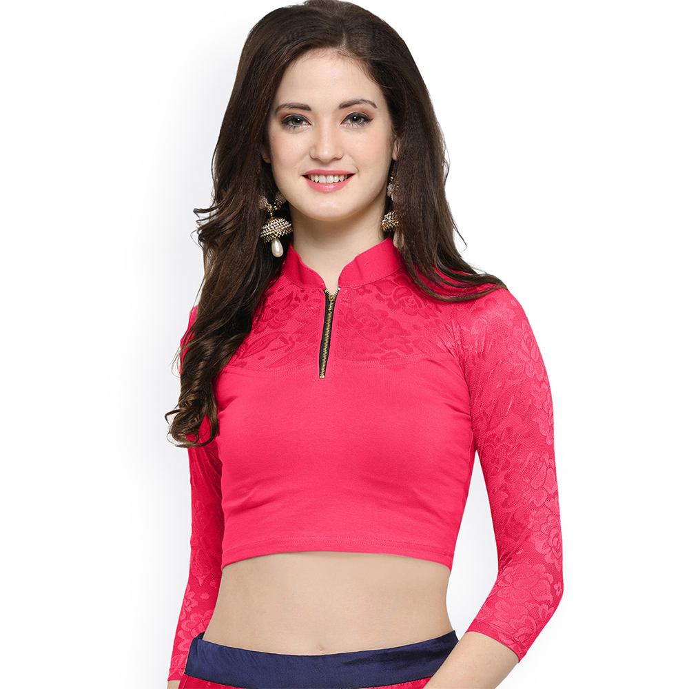 Pink Color Blouse
