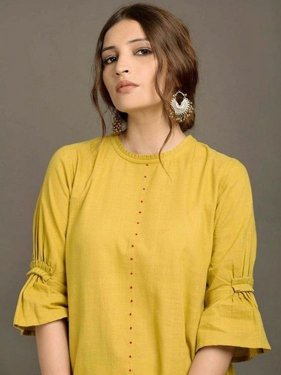 Bell Sleeves with a Twist