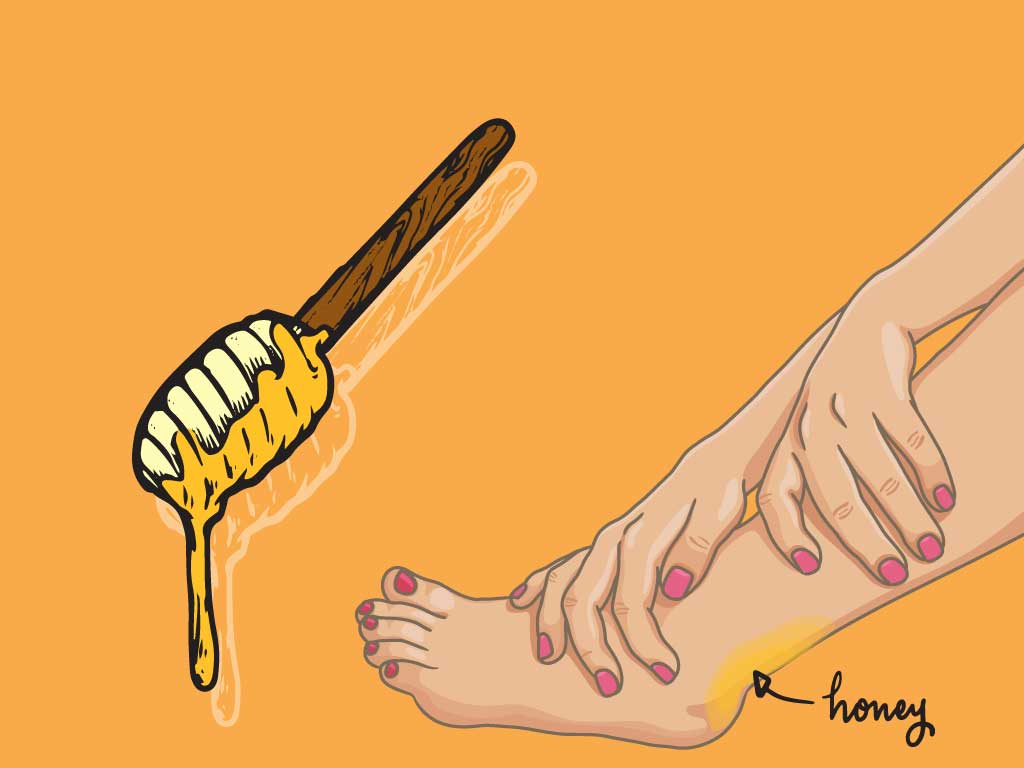 Homeremedy for shoe bit apply toothpaste on shoe bite for relief