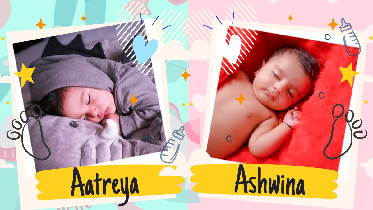 baby boy and baby girl names starting with the letter A