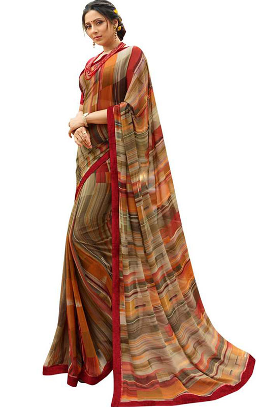 Bollywood Style Printed Saree
