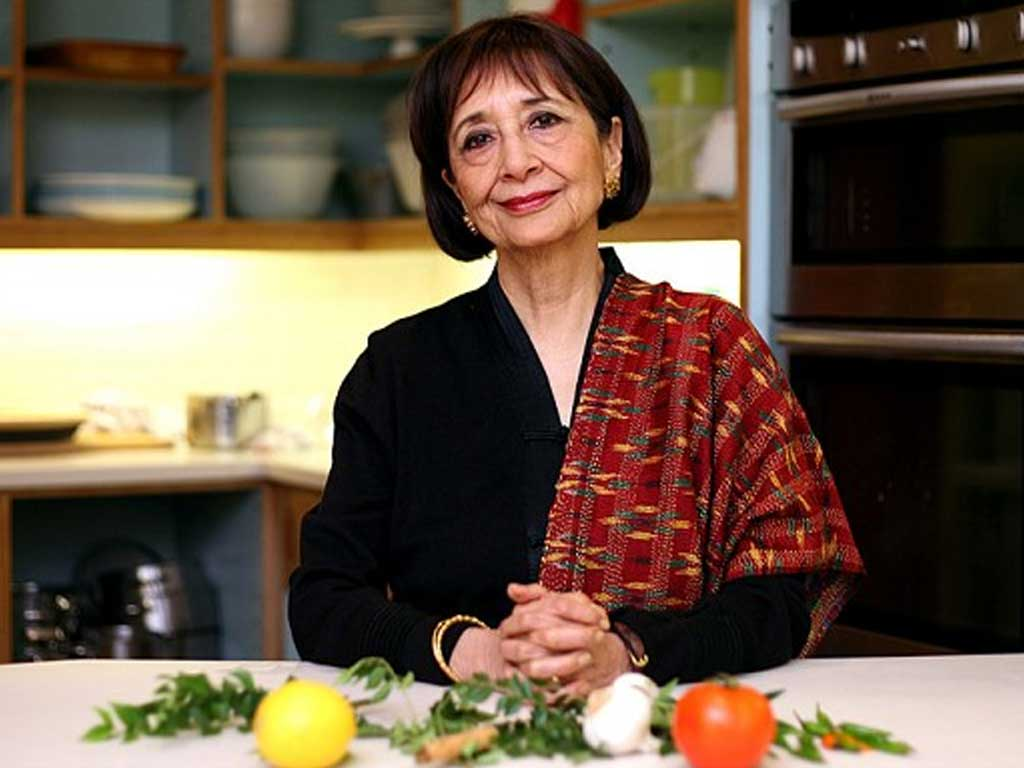 Madhur Jaffrey - one of the best Indian female chefs