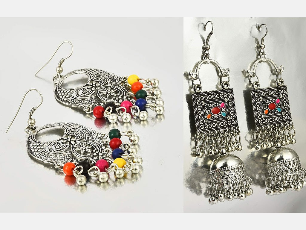 Chand Bali Earrings Combo