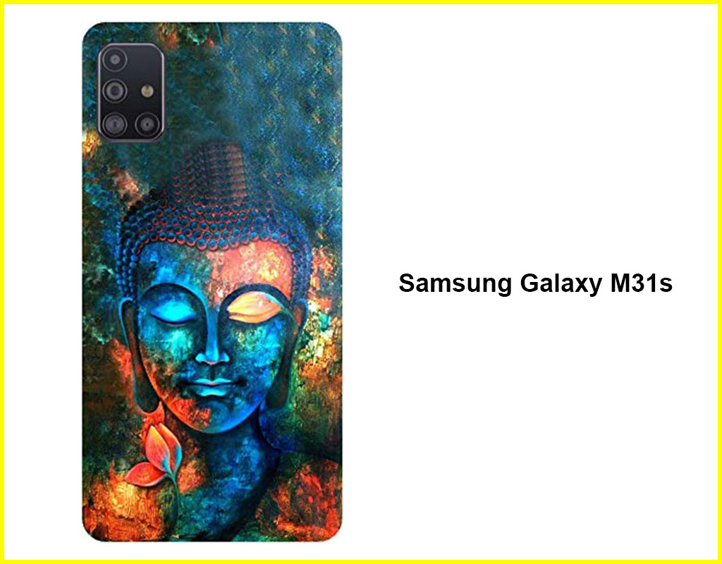 Colorful Buddha Mobile  Back Cover(Samsung Galaxy M31s)